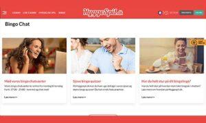 HyggeSpil.dk Bingo byder bl.a. på chatværter