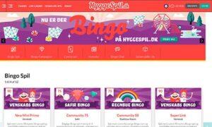 HyggeSpil.dk Bingo er Aller-koncernens eget bingorum