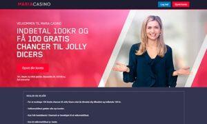 Maria Bingo er en af markedets mest populære bingoudbydere