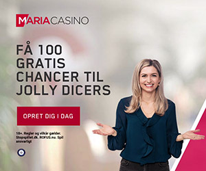 Få 100 gratis chancer hos Maria Casino